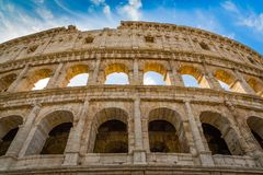 Colosseum, Rome, Italy. Exterior of the Colosseum, Rome, Italy Stock Photography