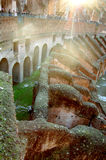 Colosseum Rome Italy interior detail Stock Photo