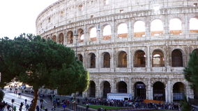 Colosseum Rome Italy stock video