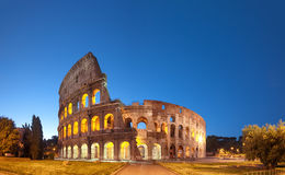 Colosseum, Rome - Italy. Colosseum at night .Rome - Italy stock image