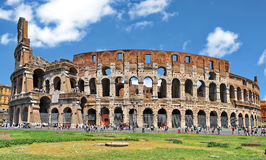Colosseum Rome, Italy. Ancient Colosseum in Rome, Italy stock images