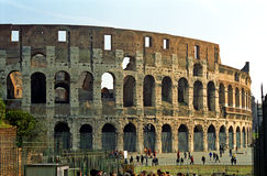 Colosseum, Rome, Italy. The ruins of Colosseum in Rome, Italy Stock Image