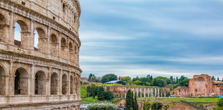 Colosseum in Rome Italy Stock Photography