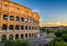 Colosseum - Rome - Italy Stock Images