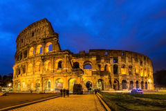 Colosseum, Rome, Italy. Twilight view of Colosseo Royalty Free Stock Image