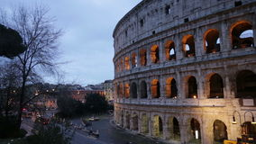 Colosseum in Rome, Italy stock video