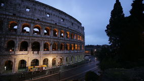Colosseum in Rome, Italy stock video footage