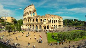 Colosseum, Rome, Italy stock video footage