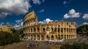 Colosseum Rome. Landmark of Ancient Rome - the Colosseum, Italy stock image