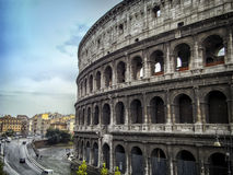 Colosseum in Rome. The largest and the world-famous Colosseum in the world is the Roman Colosseum Royalty Free Stock Images