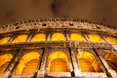 Colosseum in Rome by night Stock Photo
