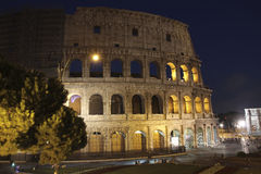 Colosseum, Rome by night Stock Photo