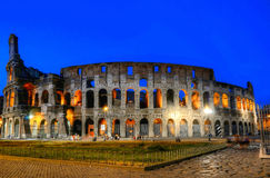 Colosseum in Rome by night. Royalty Free Stock Photo