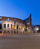 Colosseum in Rome at Night Stock Images