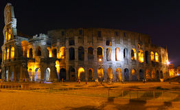 The Colosseum, Rome.  Night view Royalty Free Stock Image
