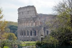 Colosseum. The Colosseum in Rome. Photo taken April 2015 Stock Photography