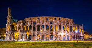 Colosseum Rome. Picture of the Colosseum in Rome, Italy, in the evening royalty free stock photos