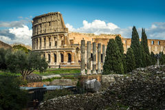 Colosseum of Rome Stock Image
