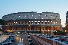 COLOSSEUM ROME ITALY COLOSSEO Royalty Free Stock Photo