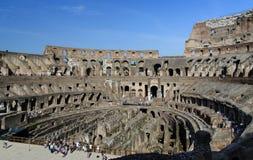 Colosseum ruïneert mening Stock Afbeeldingen