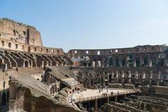 The Colosseum ruins Stock Photos