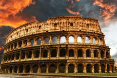 Colosseum, Rzym Obraz Royalty Free