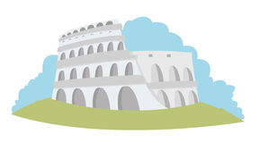 Colosseum Rzym - royalty ilustracja
