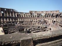 Colosseum, Rzym - ogólny widok arena zdjęcia stock