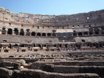 Colosseum, Rzym - widok arena Obraz Royalty Free