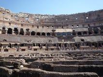 Colosseum, Rzym - widok arena obraz royalty free