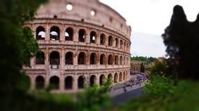 Colosseum Rzym wyborowy przegląd zdjęcie stock