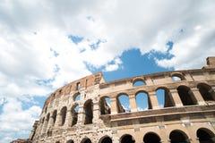 colosseum sławny Italy najwięcej miejsca Rome widok Obrazy Royalty Free