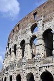 Colosseum side windows Royalty Free Stock Photo