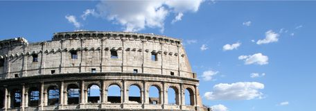 Colosseum Sky Stock Photo