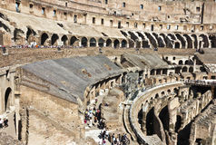 Colosseum spectacular monument of ancient Rome in Italy Royalty Free Stock Photography