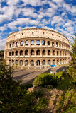 Colosseum during spring time, Rome, Italy Royalty Free Stock Images