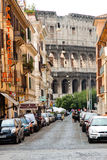 Colosseum Street Stock Photography