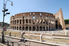 Colosseum, structure, building, arch, ancient roman architecture. Colosseum is structure, ancient roman architecture and ancient rome. That marvel has building royalty free stock photography