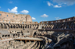 The Colosseum. The stunning ruins of the Colosseum, Rome, Italy on a lovely summers day Stock Image