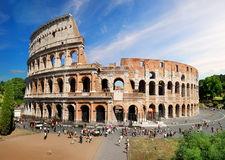 Colosseum in summer Royalty Free Stock Image