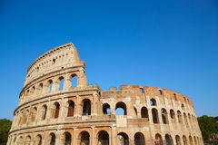 Colosseum in summer day Stock Photo