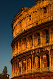Colosseum at sundown, Rome Stock Images