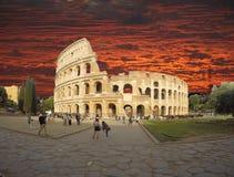 Colosseum sunrise Royalty Free Stock Photo