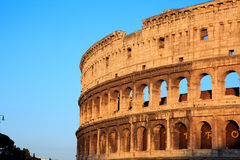Colosseum at sunset Royalty Free Stock Photography