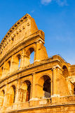 Colosseum at sunset. In Rome, Italy Stock Photo