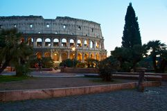 COLOSSEUM ROME ITALY COLOSSEO Royalty Free Stock Photography