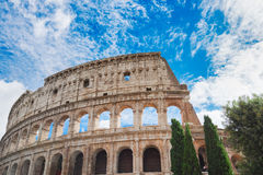 Colosseum at sunset in Rome, Italy Royalty Free Stock Photography