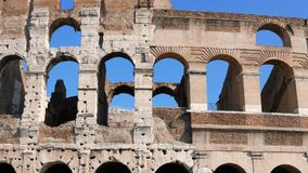 Colosseum, Top. Rome, Italy stock video