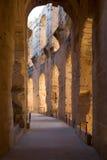 Colosseum, Tunesië Royalty-vrije Stock Afbeelding