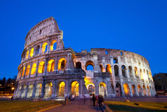 Colosseum at twilight Royalty Free Stock Photo